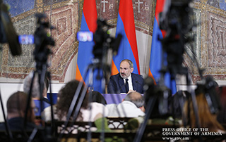 """100 Facts about New Armenia"" - Introductory remarks by Prime Minister Nikol Pashinyan, delivered at the press conference"