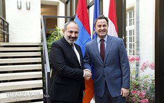 Meeting held between Nikol Pashinyan and Xavier Bettel: Armenia, Luxemburg to give new impetus to bilateral cooperation