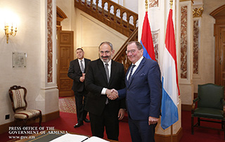 Nikol Pashinyan meets with Speaker and members of the Chamber of Deputies of the Grand Duchy of Luxembourg