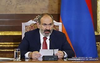 Allocution  du Premier ministre Nikol Pashinyan sur le système judiciaire