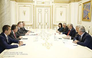 Le Premier ministre a discuté de questions liées à la réforme du système de retraite avec le Directeur de la Division Business Monitoring et Contrôle d'Amundi