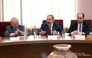 "Nikol Pashinyan: ""Our strategic vision is to make of Armenia a paradise for talents with unlimited opportunities for developing skills"""