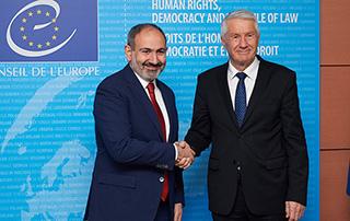 Le Premier ministre Nikol Pashinyan a eu une conversation téléphonique avec le Secrétaire Général du Conseil de l'Europe, Thorbjørn Jagland