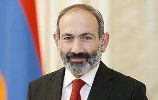 Поздравительное послание премьер-министра Никола Пашиняна по случаю 80-летия Аркадия Тер-Тадевосяна