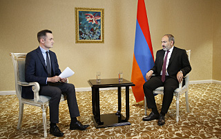 "Prime Minister Nikol Pashinyan's Interview with Kazakh ""Khabar 24"" TV Channel"