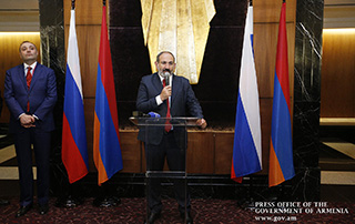 """Armenians should be much more successful in Armenia which now offers unlimited opportunities"" - PM meets with Armenian community representatives in Saint Petersburg"