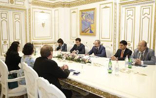 Le Premier-Ministre a reçu le président de l'Alliance mondiale des services et des technologies d'information