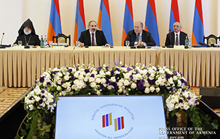 "Nikol Pashinyan: ""Hayastan All-Armenian Fund should become our national budget"""