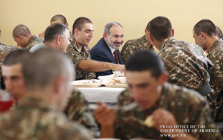 """The Armenian army is to be the most combat-capable and intellectual army in the region,"" - PM introduced to new military catering standards"