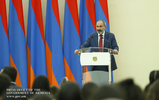 "Nikol Pashinyan: ""We see the Republic of Armenia as a country of citizens with strong knowledge and a high level of education"""