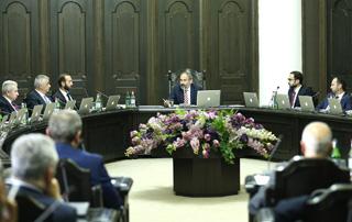 Состоялось внеочередное заседание правительства РА