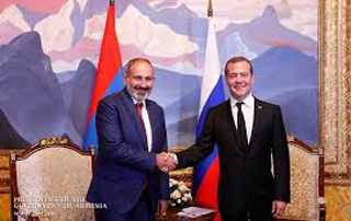 PM Nikol Pashinyan extends birthday greetings to Dmitry Medvedev