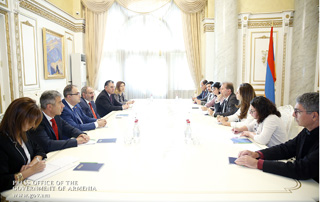 PM receives parliamentary delegation led by France-Armenia Friendship Group Vice President and France-Artsakh Friendship Circle Chairman