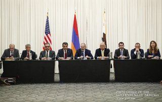 PM meets with leaders of California-based Armenian community organizations in Los Angeles