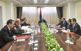 Security Council holds meeting chaired by PM Pashinyan