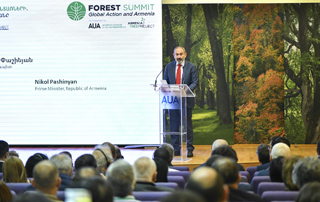 "PM: ""The Government of Armenia has a strong commitment and political will to preserve, restore and expand forests"""