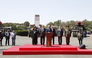 Поздравительное послание премьер-министра Никола Пашиняна по случаю 100-летия Республики Армения и Героических майских сражений