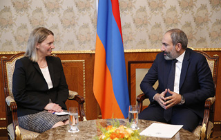 Nikol Pashinyan, Bridget Brink discuss development of U.S.-Armenian relations
