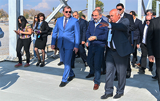 PM gets acquainted with Gyumri's Foreign Economic Service Center, including the construction of a customs house for vehicles