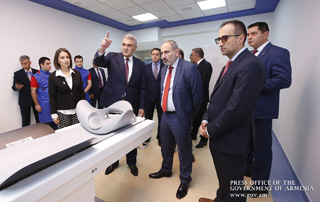 PM attends inauguration of European Center of Nuclear Medicine in Yerevan