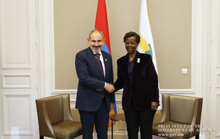 PM meets with OIF Secretary-General Louise Mushikiwabo
