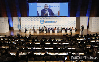 Nikol Pashinyan, Anna Hakobyan attend 40th UNESCO General Conference proceedings