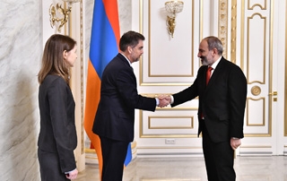 PM receives newly appointed IMF Armenia Mission Head
