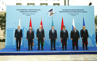"""We need to redouble our efforts towards creating common EAEU energy and transport markets"" - PM attends Eurasian Intergovernmental Council Meeting"