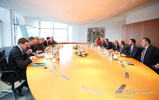 Top-level Armenian-German talks held in Berlin