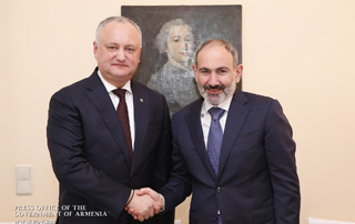 Armenian PM meets with Moldovan President on the margins of the Munich Security Conference