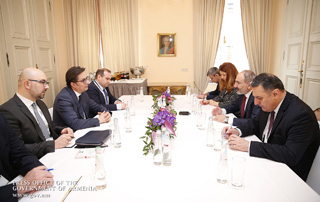 Armenian Prime Minister, President of North Macedonia discuss ways of promoting bilateral economic cooperation