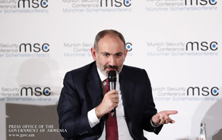 """Armenia, Nagorno-Karabakh ready to make real efforts to resolve the conflict"" - Nikol Pashinyan attends panel discussion on the Nagorno-Karabakh conflict on the sidelines of the Munich Security Conference"
