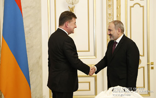 """The opening of Slovakia's embassy in Armenia will upgrade bilateral relations"" – PM receives Slovakian Foreign Minister"