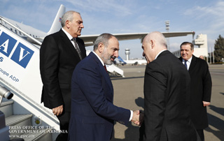 Prime Minister arrives in Georgia on official visit