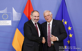 PM Nikol Pashinyan, Josep Borrell meet in Brussels