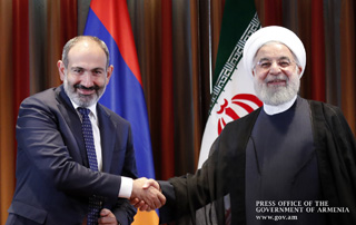 PM Nikol Pashinyan holds phone talk with IRI President Hassan Rouhani