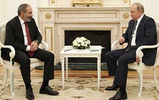 Վարչապետ Նիկոլ Փաշինյանի աշխատանքային այցը   Ռուսաստանի Դաշնություն