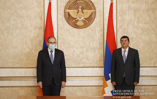 """All prerequisites in place for effective cooperation between Armenian and Artsakh authorities"" – Nikol Pashinyan, Arayik Haroutunyan hold private talks"