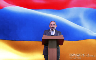 """The Velvet Revolution should inevitably lead to international recognition of Artsakh's self-determination"" - Prime Minister and Mrs. Anna Hakobyan attend Arayik Harutyunyan's inauguration ceremony"