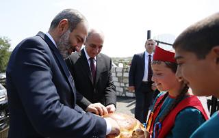Рабочий визит премьер-министра Никола Пашиняна в Республику Арцах