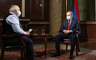 Excerpt relating to Artsakh from PM Nikol Pashinyan's interview with the Public Television of Armenia