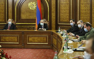 Security Council holds emergency meeting, chaired by PM Nikol Pashinyan