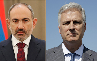 PM Pashinyan holds phone conversation with U.S. Presidential Adviser Robert O'Brien