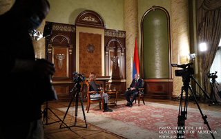 """In this situation, the Karabakh conflict has one solution: the principle of ""remedial secession"" – Nikol Pashinyan's Interview to Liberation"