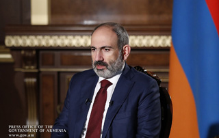 """I expect the international community to acknowledge that the principle of ""remedial secession"" is applicable to Nagorno-Karabakh"" - PM gives interview to Indian WION TV channel"