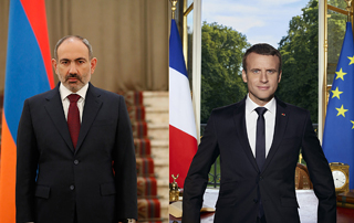 Prime Minister Pashinyan holds phone talk with Emmanuel Macron