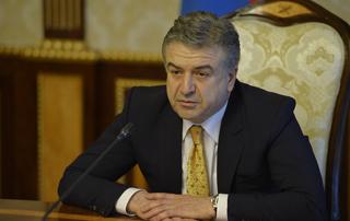 Acting Prime Minister Karen Karapetyan's Statement at Extraordinary Cabinet Meeting