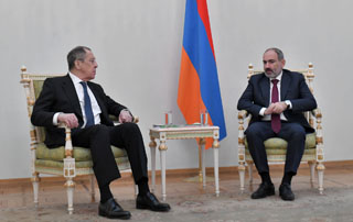 """We need to ensure the return of Artsakh residents to their homes"" - PM Pashinyan Meets with Russian Foreign Minister Sergey Lavrov"