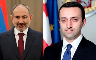 PM Pashinyan congratulates newly appointed Georgian Prime Minister
