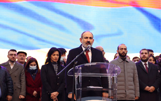 """People constitute an invincible force"" - Prime Minister's Speech at Republic Square Rally"